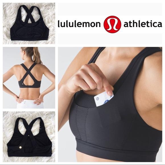 f2737a302f lululemon athletica Other - 🖤🍋EUC Lululemon Run Stuff Your Bra III size 10